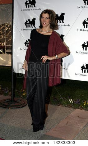 Wendy Malick at the 'In Defense of Animals Hosts 2nd Annual Guardian Award' at the Paramount Studios in Los Angeles, USA on October 30, 2004.