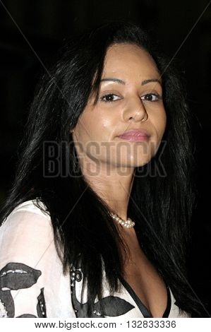 Persia White at the 'In Defense of Animals Hosts 2nd Annual Guardian Award' at the Paramount Studios in Los Angeles, USA on October 30, 2004.