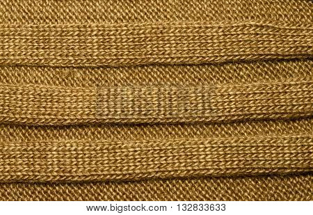 Brown Ribbed Knit Wool Like Texture, Textured Fabrics Knitted Jersey,
