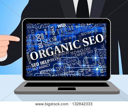 Organic Seo Represents Search Engines And Computer