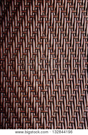 grunge synthetic rattan weave texture for background