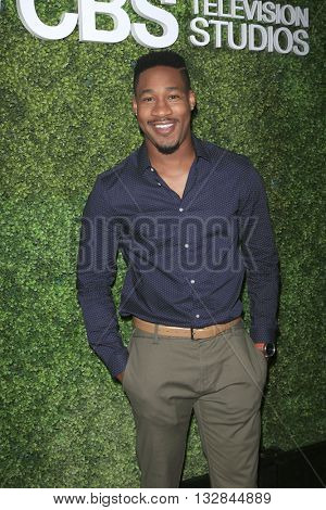 LOS ANGELES - JUN 2:  Aaron Jennings at the 4th Annual CBS Television Studios Summer Soiree at the Palihouse on June 2, 2016 in West Hollywood, CA