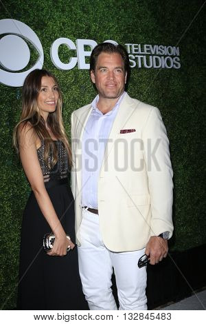 LOS ANGELES - JUN 2:  Bojana Jankovic, Michael Weatherly at the 4th Annual CBS Television Studios Summer Soiree at the Palihouse on June 2, 2016 in West Hollywood, CA