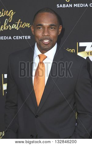 LOS ANGELES - JUN 2:  Jason George at the Television Academy 70th Anniversary Gala at the Saban Theater on June 2, 2016 in North Hollywood, CA