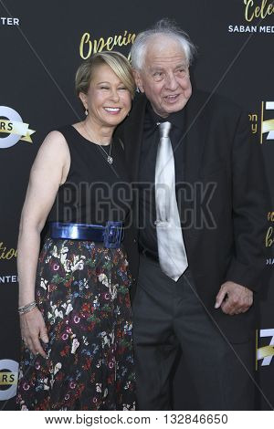 LOS ANGELES - JUN 2:  Yeardley Smith, Garry Marshall at the Television Academy 70th Anniversary Gala at the Saban Theater on June 2, 2016 in North Hollywood, CA