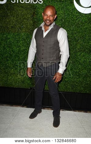 LOS ANGELES - JUN 2:  Chris Williams at the 4th Annual CBS Television Studios Summer Soiree at the Palihouse on June 2, 2016 in West Hollywood, CA
