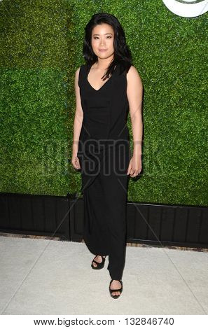 LOS ANGELES - JUN 2:  Jadyn Wong at the 4th Annual CBS Television Studios Summer Soiree at the Palihouse on June 2, 2016 in West Hollywood, CA