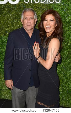 LOS ANGELES - JUN 2:  Les Moonves, Julie Chen at the 4th Annual CBS Television Studios Summer Soiree at the Palihouse on June 2, 2016 in West Hollywood, CA