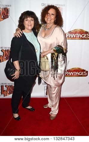 LOS ANGELES - MAY 31:  sister, Melissa Manchester at the 42nd Street Play Opening at the Pantages Theater on May 31, 2016 in Los Angeles, CA