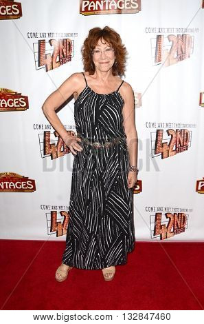 LOS ANGELES - MAY 31:  Mindy Sterling at the 42nd Street Play Opening at the Pantages Theater on May 31, 2016 in Los Angeles, CA