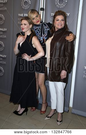 LOS ANGELES - MAY 26:  Natasha Lyonne, Taylor Schilling, Kate Mulgrew at the PaleyLive Presents Orange is the New Black at the Paley Center for Media on May 26, 2016 in Beverly Hills, CA