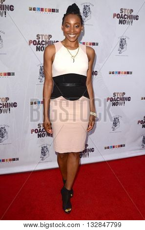 LOS ANGELES - MAY 25:  Erica Ash at the Stop Poaching Now 2016 Gala at the Ago Restaurant, on May 25, 2016 in West Hollywood, CA