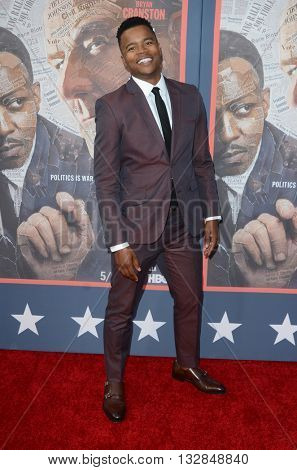 LOS ANGELES - MAY 10:  Marque Richardson at the All The Way LA Premeire Screening at the Paramount Studios on May 10, 2016 in Los Angeles, CA