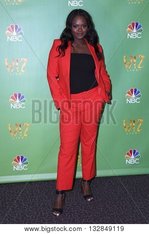 LAS VEGAS - JUN 1:  Shanice Williams at the Television Academy Event For NBC's The Wiz Live! at the Directors Guild of America on June 1, 2016 in West Hollywood, CA