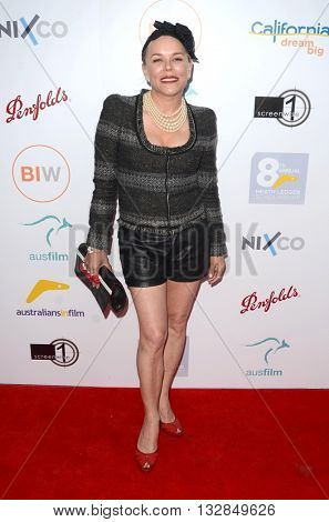 LOS ANGELES - JUN 1:  Kym WIlson at the 2016 Australians In Film Heath Ledger Scholarship Dinner at the Mr. C on June 1, 2016 in Beverly Hills, CA