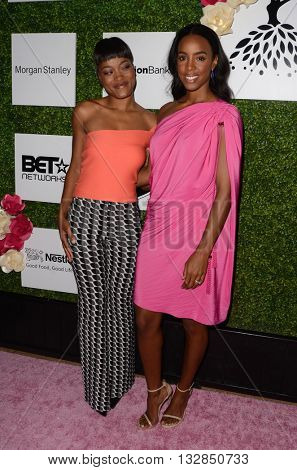 LOS ANGELES - JUN 4:  Keke Palmer, Kelly Rowland at the 2016 Ladylike Women of Excellence Awards Gala at the Beverly Hilton Hotel on June 4, 2016 in Beverly Hills, CA