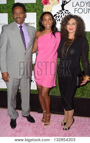LOS ANGELES - JUN 4:  Richard Lawson, Kelly Rowland, Tina Knowles at the 2016 Ladylike Women of Excellence Awards Gala at the Beverly Hilton Hotel on June 4, 2016 in Beverly Hills, CA