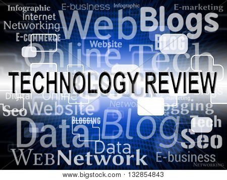 Technology Review Means Assessment Evaluation And Assess