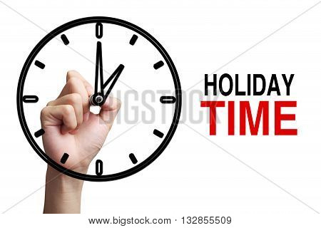 Holiday Time Concept