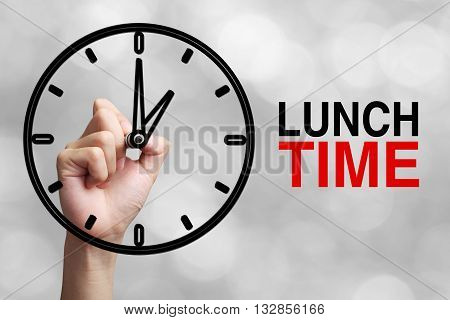 Lunch Time Concept
