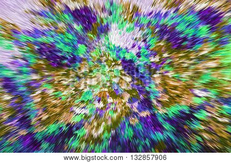 Color Extrusion Floral Background, Bright Colorful Abstract, Extrusion Blocks And Pyramids, The Grad