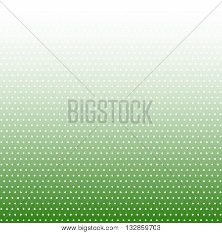 Geometric modern vector pattern. Fine ornament with dotted elements. Green and white pattern