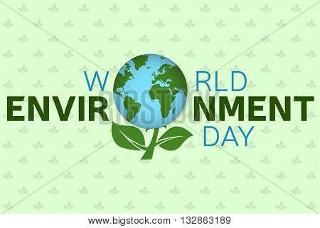 World Environment Day Background Template. World Environment Day Poster, Banner.   For Web Design An
