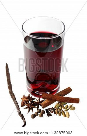 Mulled wine or Glintwine is a beverage of European origins usually made with red wine along with various mulling spices and sometimes raisins.