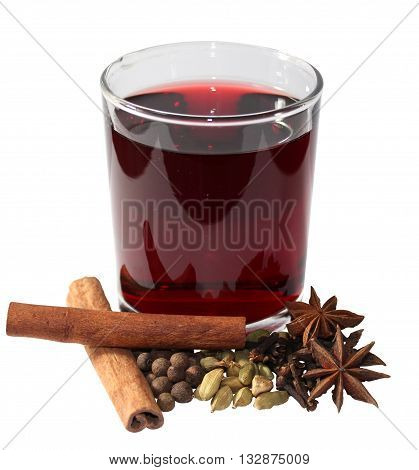 Glint-wine is a beverage of European origins usually made with red wine along with various mulling spices and sometimes raisins.