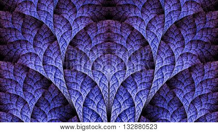 Exotic biological organism. Cosmic Gate. Plant leaves. Sacred geometry. Mysterious psychedelic relaxation wallpaper. Fractal abstract pattern. Digital artwork creative graphic design.