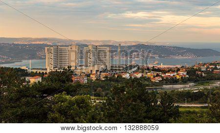 Sunrise In The Bay Of Trieste