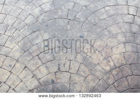 Design of cement furrow textures. wallpaper background
