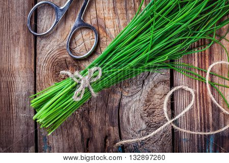 Bunch Of Organic Chives
