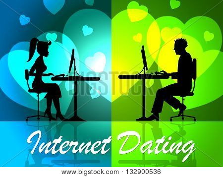 Internet Dating Represents Web Site And Date