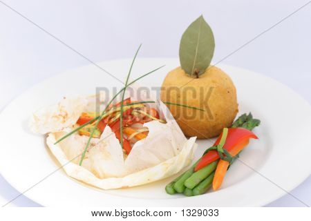Seafood Pappiotte
