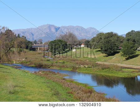 Berg River, Paarl,  Cape Town South Africa 01
