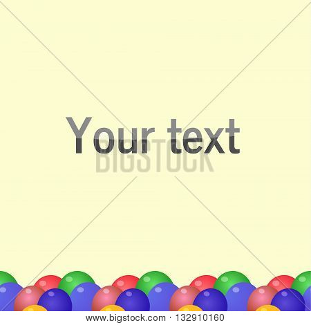 Background With Soft Waves color shadow simple style thread bending