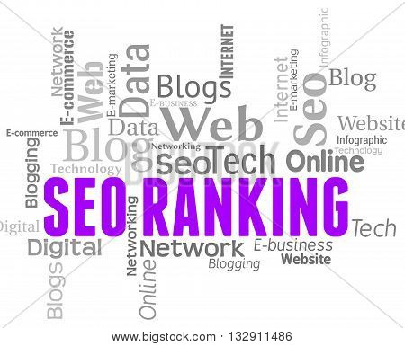 Seo Ranking Shows Search Engine And Keyword