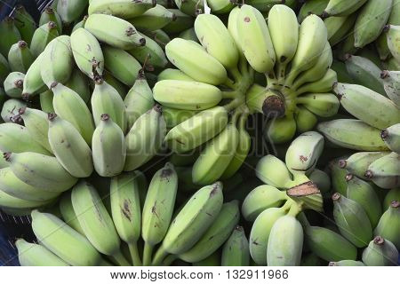 Banana, The banana is an edible fruit, botanically a berry, produced by several kinds of large herbaceous