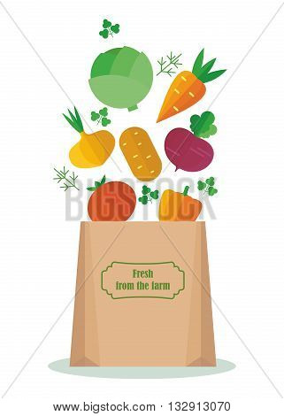 Vegetables In The Package
