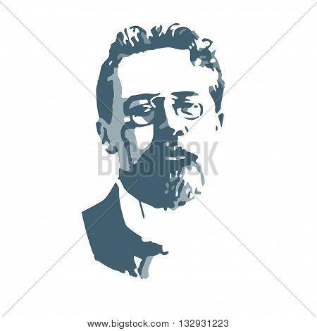 Anton Pavlovich Chekhov, the famous writer, the author of plays