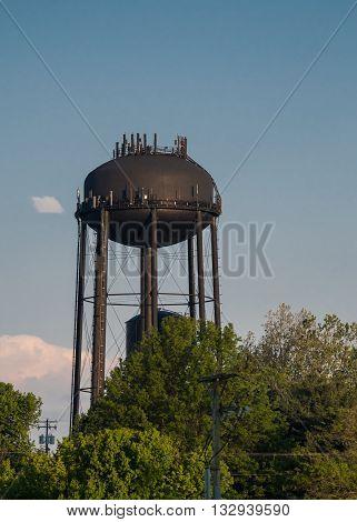 Keeneland water tower outside of the Kentucky landmark