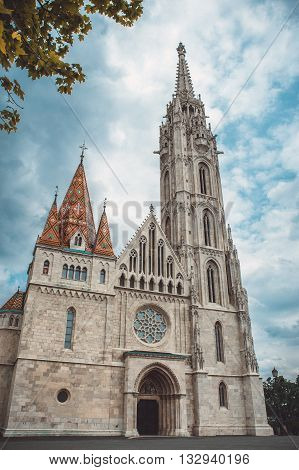 Matthias Church is a Roman Catholic church located in Budapest Hungary in front of the Fisherman's Bastion at the heart of Buda's Castle District.