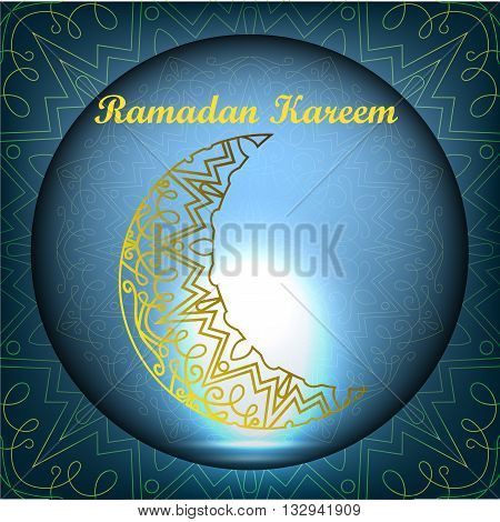 Ramadan Kareem. Ramadan design. Ramadan Kareem background with islamic ornament. Ramadan traditions. Ramadan mubarak Greeting card and invitation.
