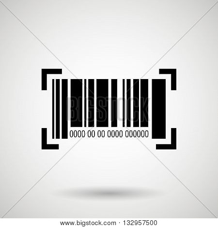 product identification code design, vector illustration eps10 graphic