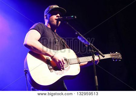 HUNTINGTON, NY-DEC 11: Country music artist Tyler Rich performs onstage at the Paramount on December 11, 2015 in Huntington, New York.