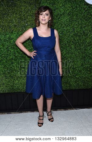 LOS ANGELES - JUN 02:  Rachel Bloom arrives to the 2016 CBS Summer Soiree  on June 02, 2016 in Hollywood, CA.