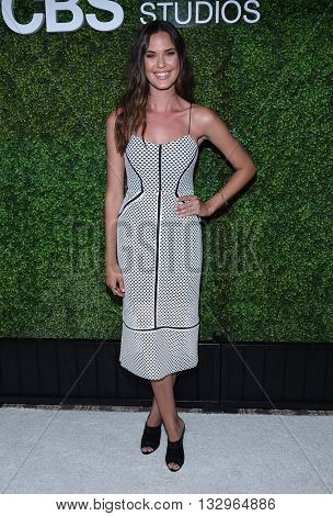 LOS ANGELES - JUN 02:  Odette Annable arrives to the 2016 CBS Summer Soiree  on June 02, 2016 in Hollywood, CA.