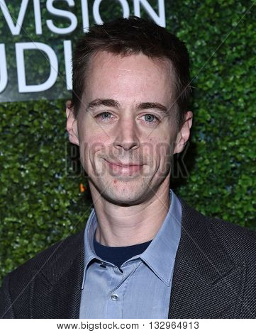 LOS ANGELES - JUN 02:  Sean Murray arrives to the 2016 CBS Summer Soiree  on June 02, 2016 in Hollywood, CA.