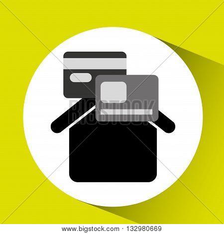 credit approved design, vector illustration eps10 graphic